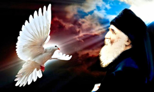 Αποτέλεσμα εικόνας για αγιος παισιος για αγιο πνευμα